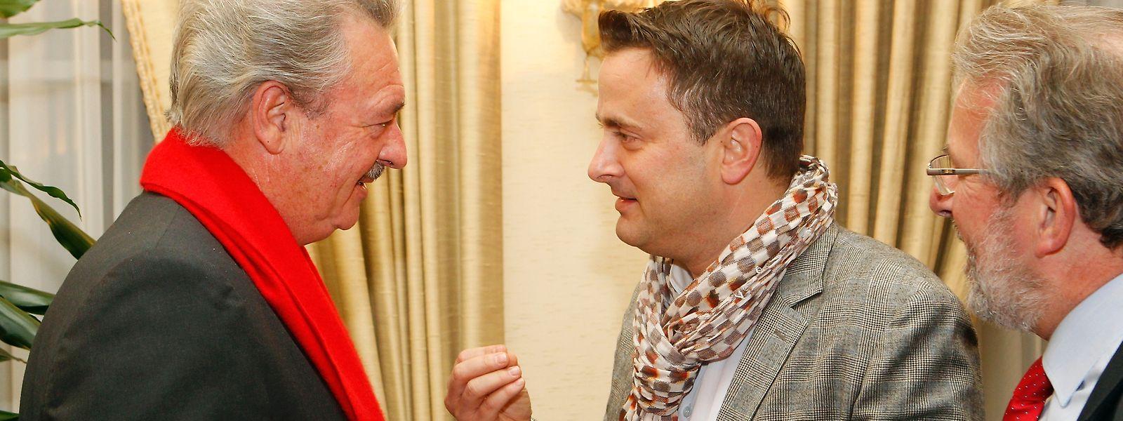 Ungleiches Duo: Außenminister Jean Asselborn und Premier Xavier Bettel