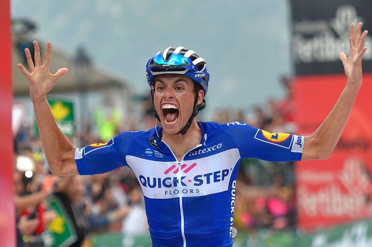 Enric Mas von Quick Step Floors' gewann die 20. Etape der Vuelta.