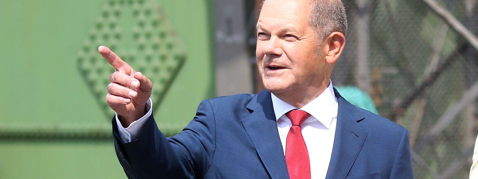 Olaf Scholz, Bundesminister der Finanzen, soll es nun bei der nächsten Bundestagswahl für die SPD richten.