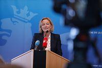 Politik, Paulette Lenert, Wochenbericht, Zusammen gegen Covid-19  Foto: Anouk Antony/Luxemburger Wort