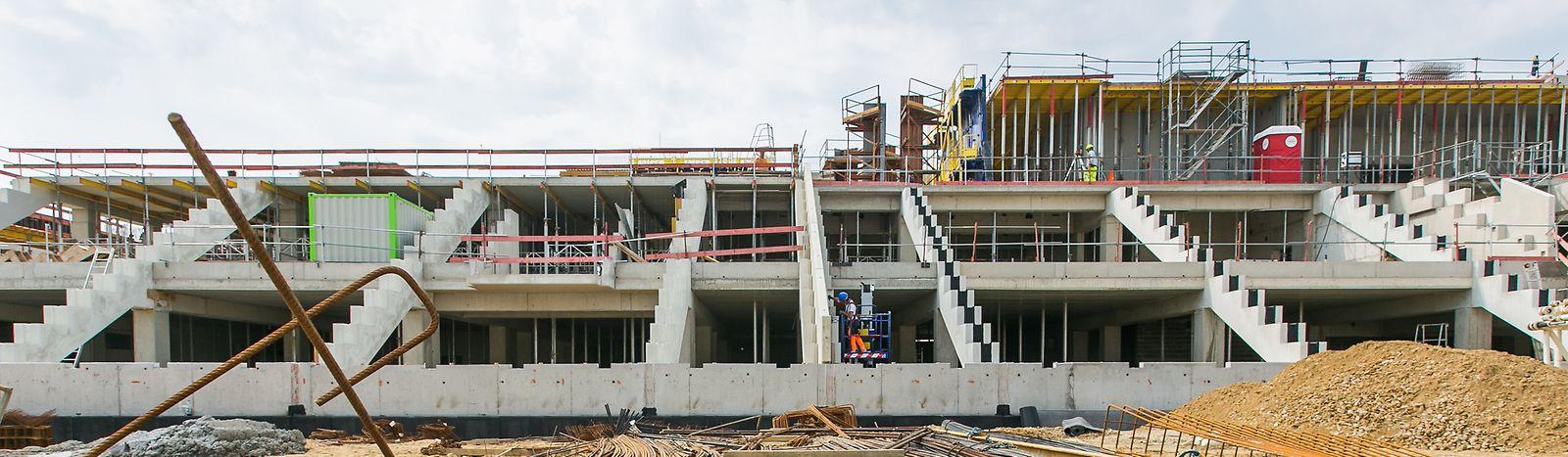 Visite du chantier du nouveau stade national, Foto Lex Kleren