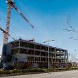 Im Rouden Ec, der von Beng Architectes entworfen wurde, entsteht neben Wohn-, Geschäfts- und Büroräumen auch ein Hotel.