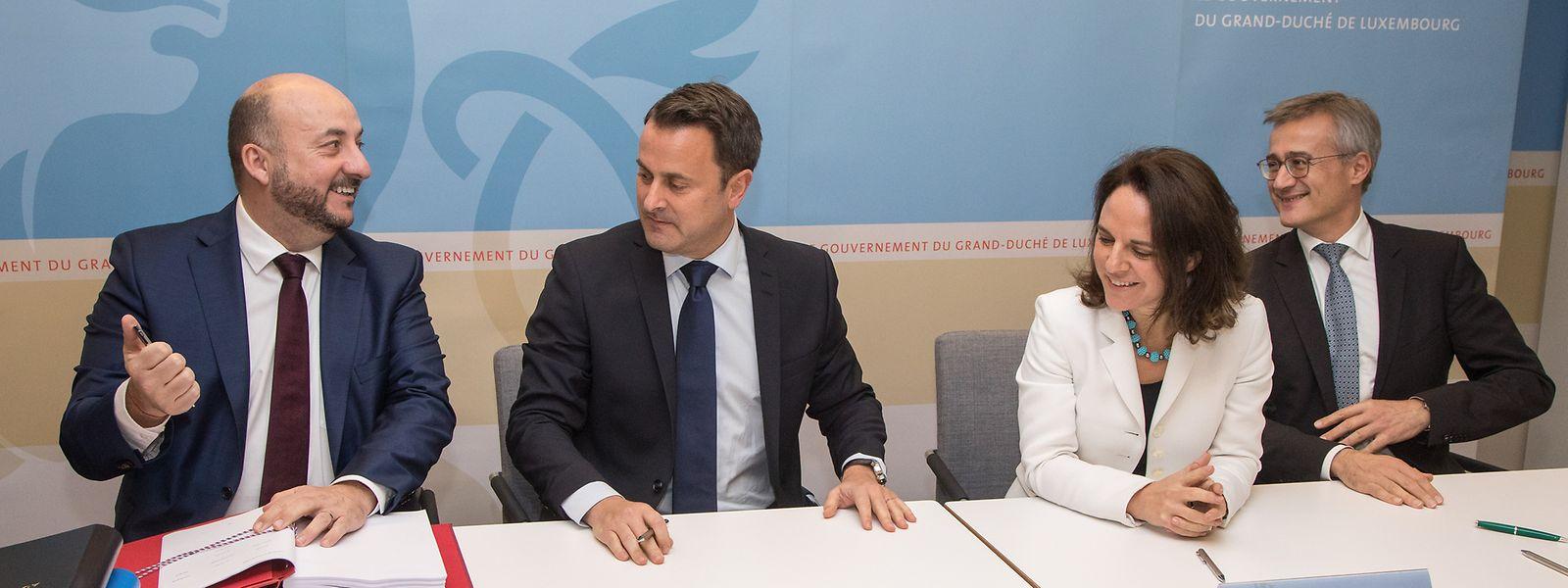 Mit Wirtschaftsminister und Vizepremierminister Etienne Schneider (l.) verliert die LSAP eine ihrer tragenden Säulen.