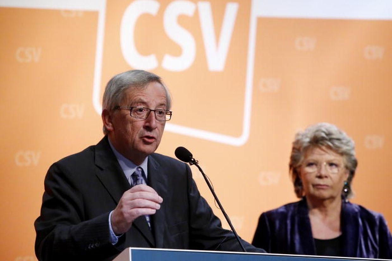 EU-Justizkommissarin Viviane Reding hatte ebenfalls den Weg nach Niederanven gefunden.