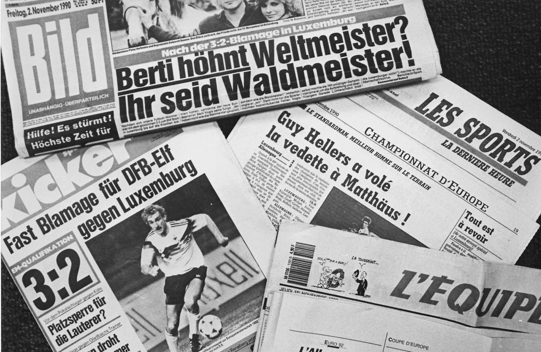 Der knappe 3:2-Sieg wurde zum Gesprächsthema in der deutschen und internationalen Presse.