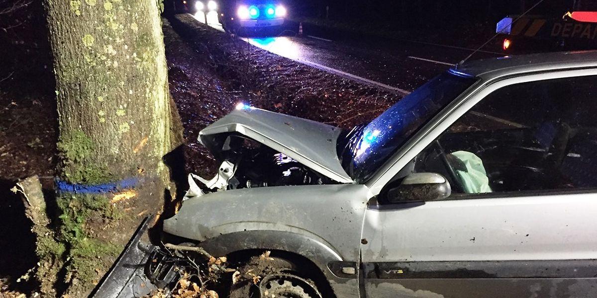 Am Auto entstand hoher Sachschaden.