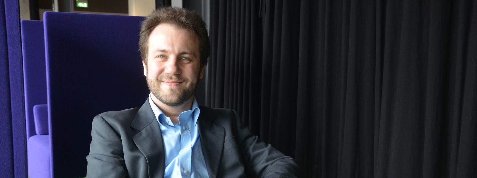 Michel Duchateau conseille aux jeunes entrepreneurs de ne pas rester isolés.
