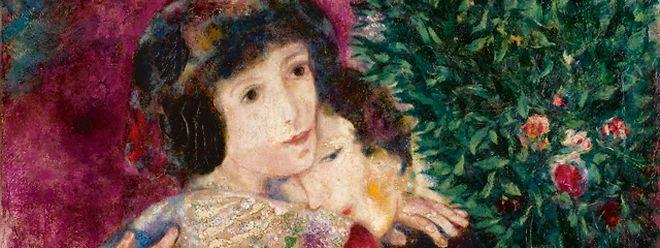 """""""Les Amoureux"""" wurde im Jahr 1928 gemalt."""