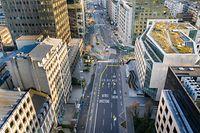 Coronavirus - Leere Plätze - Luxemburg - Lost City - Drone  - bvd Royal -  Foto: Pierre Matgé/Luxemburger Wort