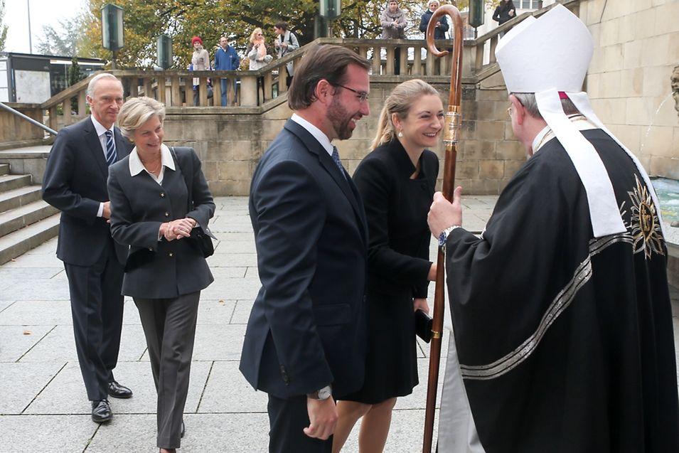Auch das erbgroßherzogliche Paar sowie Erzherzogin Marie-Astrid und Erzherzog Christian von Österreich nahmen an der Feier teil.