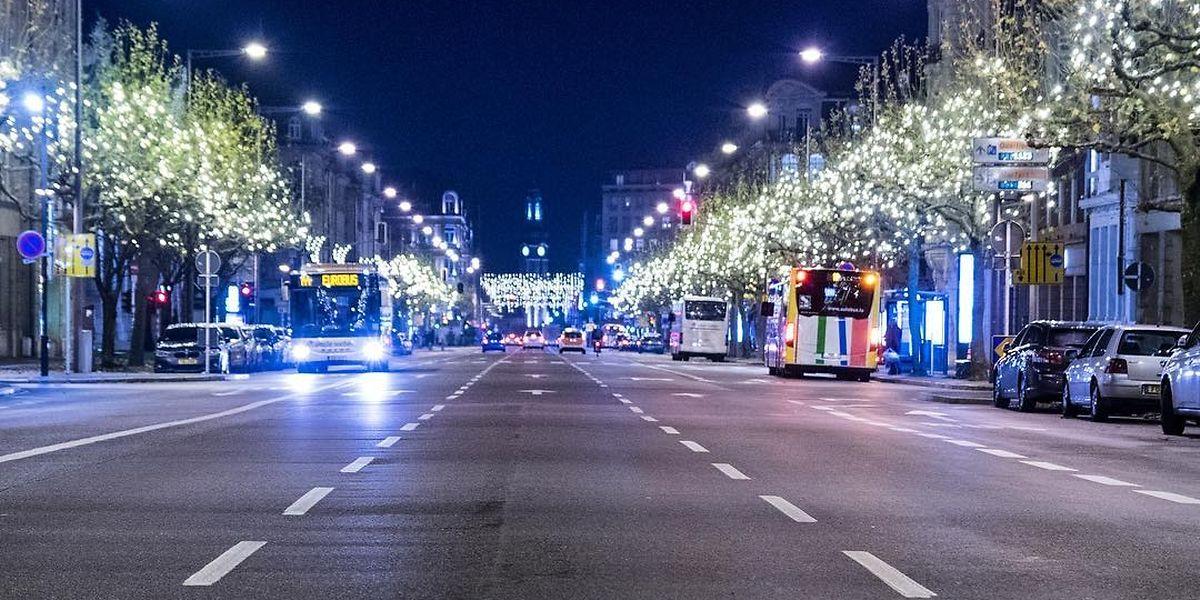 Die Polizisten wollten in der Avenue de la Liberté einen Mann überprüfen, doch dann ergriff dieser die Flucht.