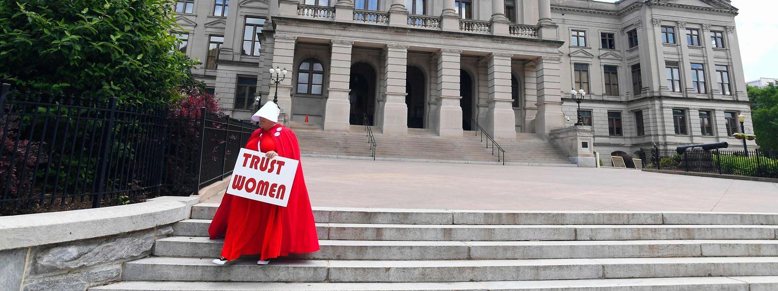 Auch im Bundesstaat Georgia könnte es bald strengere Abtreibungsgesetze geben.