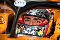 (FILES) In this file photo taken on July 12, 2019 McLaren's Spanish driver Carlos Sainz Jr prepares to drive during first practice at Silverstone motor racing circuit in Silverstone  ahead of the British Formula One Grand Prix. - Sainz is to succeed Vettel at Ferrari F1 team next season, Ferrari officially announced on May 14, 2020. (Photo by ANDREJ ISAKOVIC / AFP)