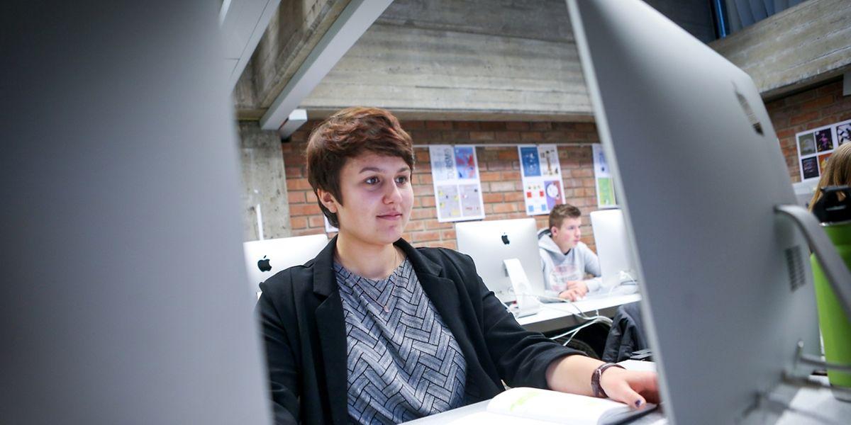 C'est l'idée de Michèle Lawniczak, 17 ans, qui a retenu l'attention du Président de la Chambre des députés.