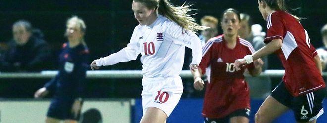 Sophie Maurer et ses partenaires ont encaissé deux buts dans les cinq dernières minutes.