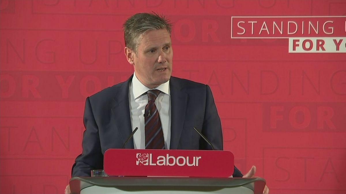 Labour's Brexit spokesman Keir Starmer