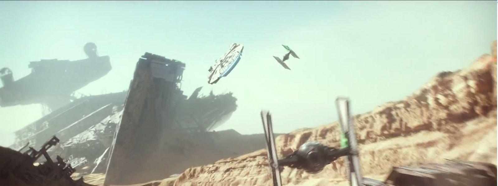 Une scène de la bande-annonce, à découvrir dès maintenant en attendant la sortie du fameux opus, le 16 décembre.