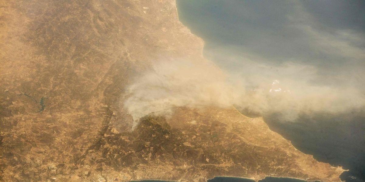 Imagem é da Agência Espacial Europeia e foi obtida por Alexander Gerst.