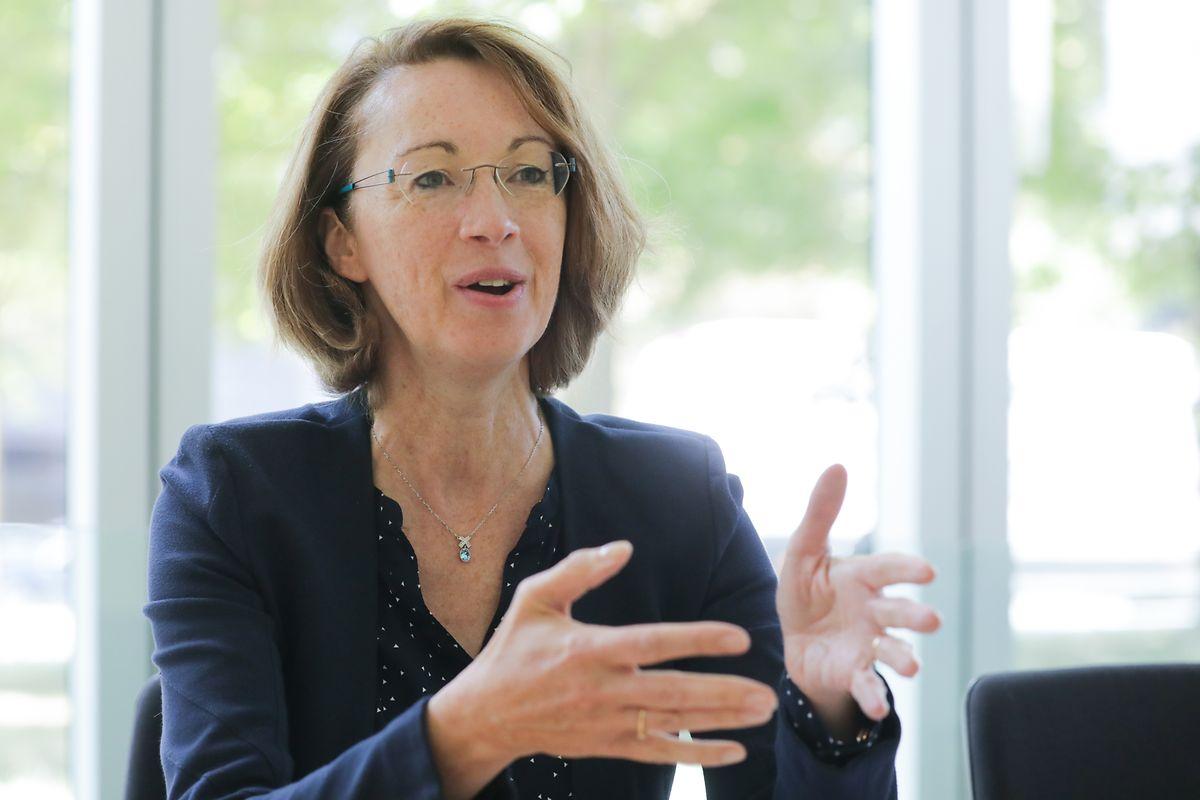 Catherine Bourin ist Direktionsmitglied der Bankenvereinigung ABBL.