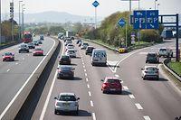 PK Autobahn A3, Ausbau von 2 auf3 Spuren.Foto:Gerry Huberty