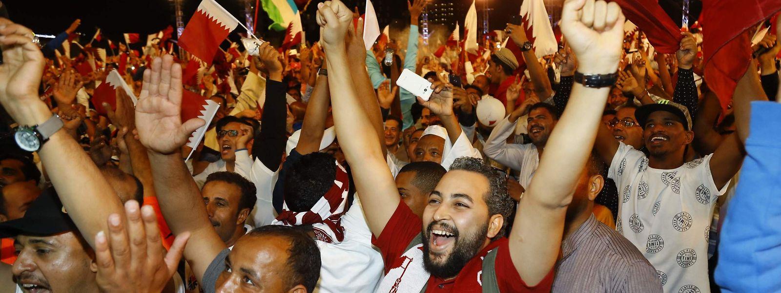 L'équipe du Qatar a remporté vendredi la Coupe d'Asie de football 2019 (en battant le Japon 3-1 en finale) aux Emirats arabes unis.