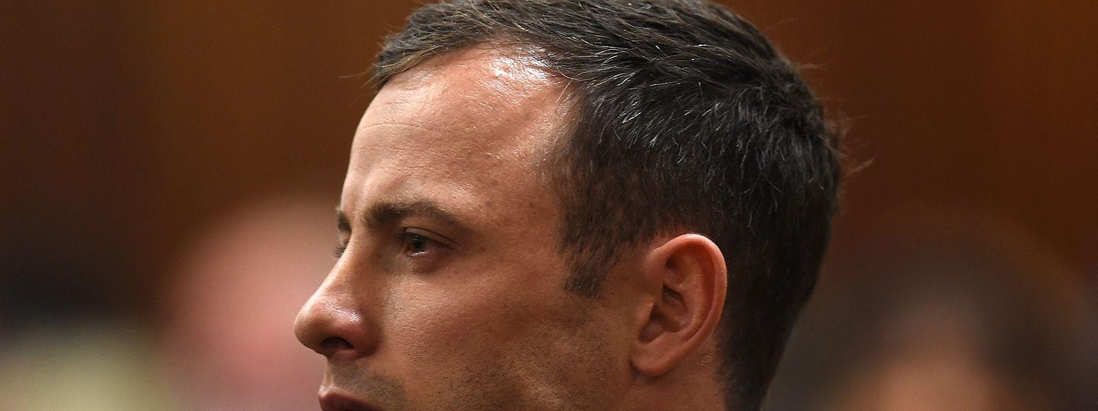 Oscar Pistorius im vergangenen Jahr während der Verhandlungen vor Gericht.