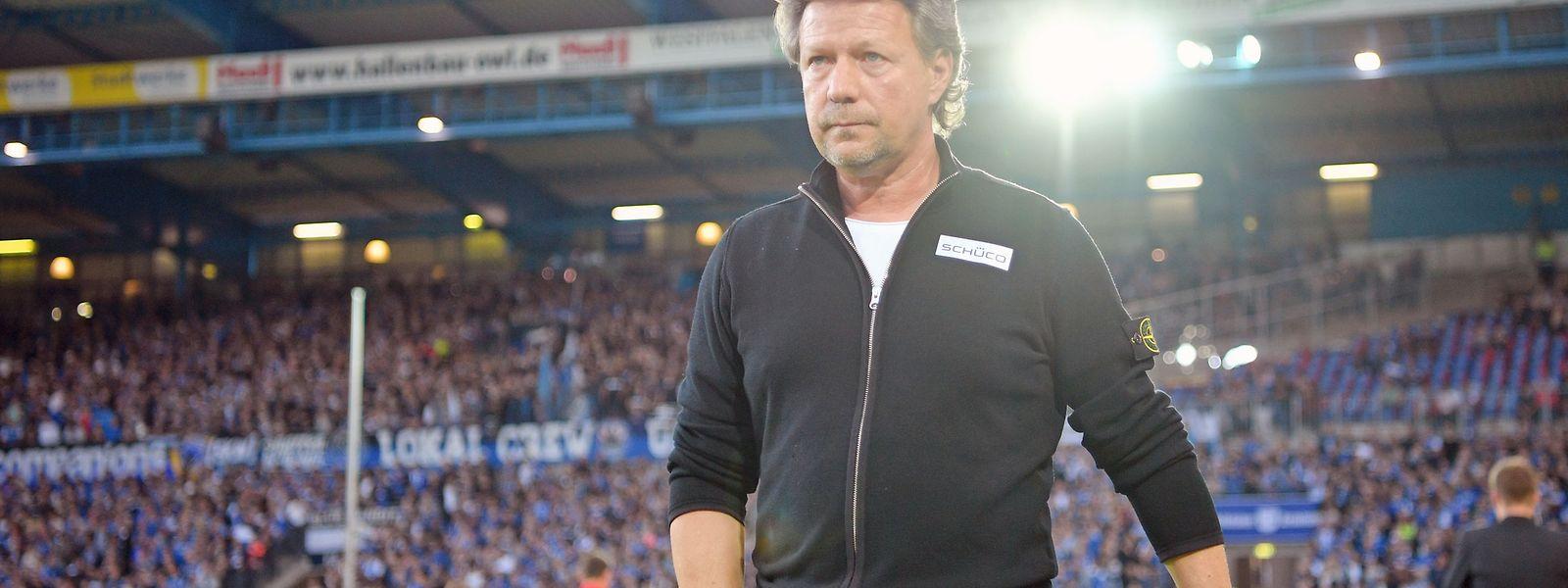Jeff Saibene hat Bielefeld vor dem Abstieg in die dritte Liga bewahrt.