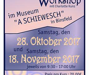 Workshop der Kalligraphie mit Charlotte Kunz