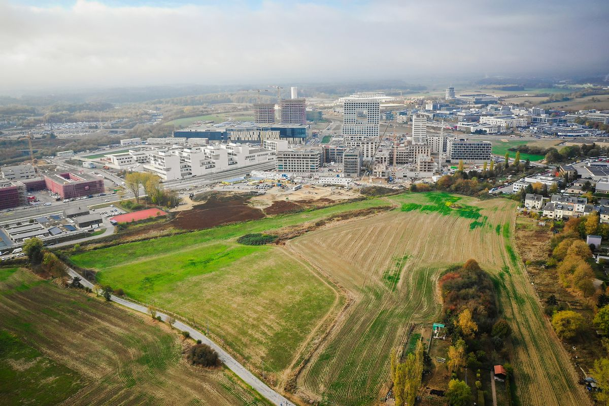 Le parc aura une superficie totale de 14,9 hectares.