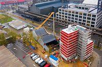 Visite des installations photovoltaïques de la Maison des Sciences Humaines et de la Maison de l'Innovation à Belval  - Belval -  - 23/11/2020 - photo: claude piscitelli