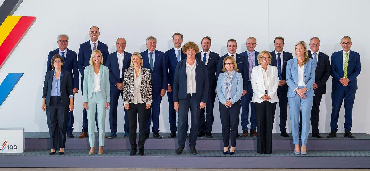 Sept femmes ministres présentes pour onze messieurs : la Gaïchel n'était pas un exemple de parité.