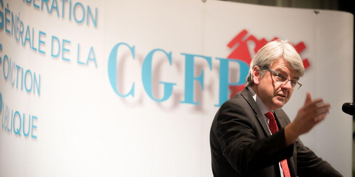 CGFP-Generalsekretär fordert ein Ende der Austeritätspolitik