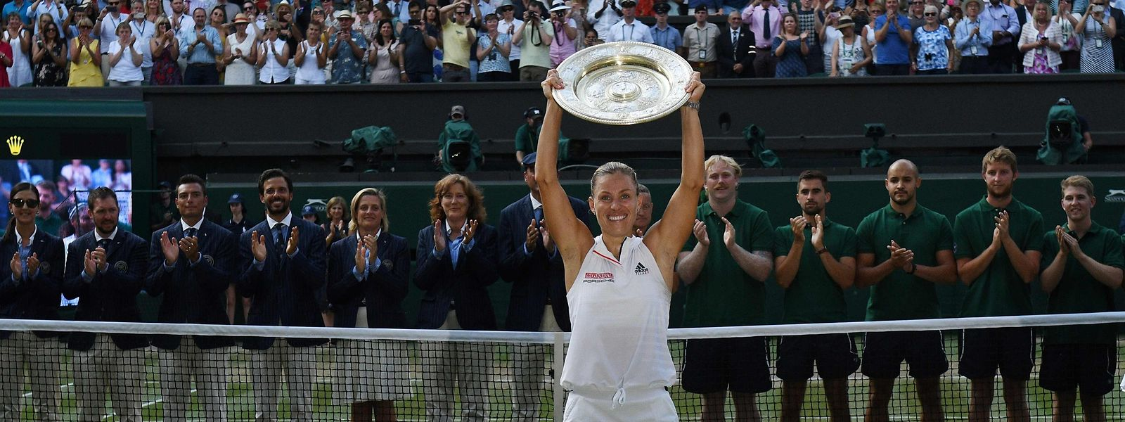 Angelique Kerber gewann 2018 in Wimbledon ihr drittes Grand-Slam-Turnier.