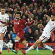 Mohamed Salah en a fait voir de toutes les couleurs aux Romains ce mardi.