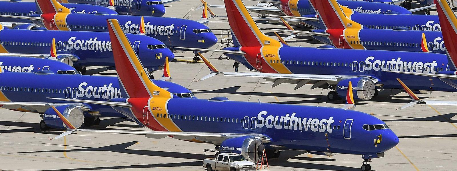 Seit Mitte 2019 dürfen die 737 Max nicht mehr fliegen.
