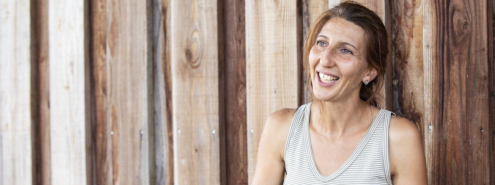 Sabrina Zumbo versorgt seit 2014 die Differdinger Maison relais mit Biogemüse, das sie in Differdingen erntet.