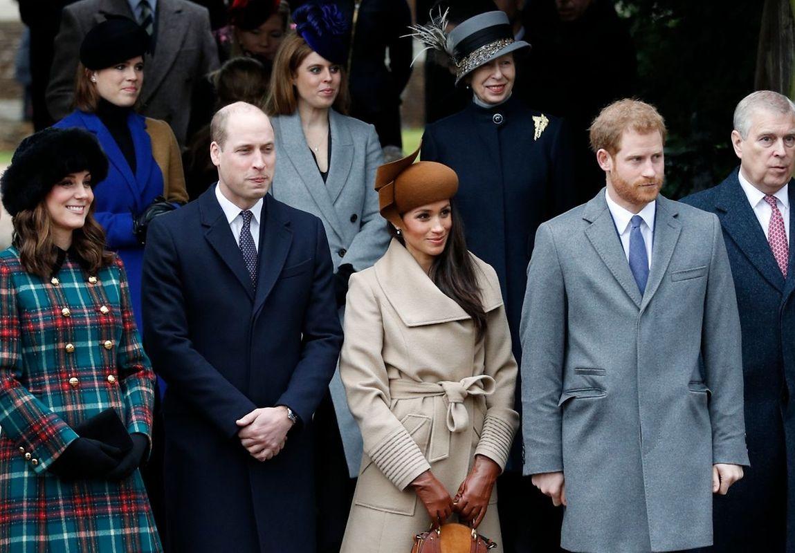 In Großbritannien war nicht das Schaulaufen der Royals an Weihnachten das eigentliche Highlight, sondern der erste Auftritt der künftigen Ehefrau des Prinzen Henry.