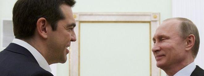 Das Treffen der beiden Spitzenpolitiker verlief konstruktiv und freundschaftlich.