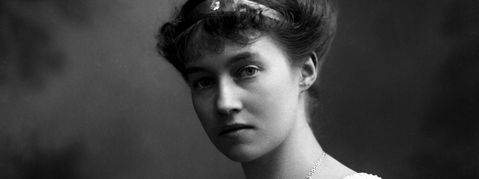 Großherzogin Charlotte im Jahr 1919.