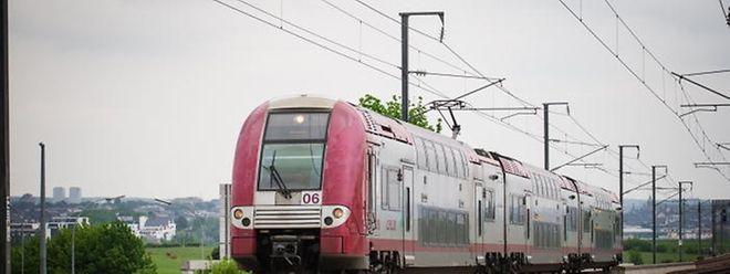 90,9 Prozent aller Züge der CFL kamen 2015 pünktlich an.