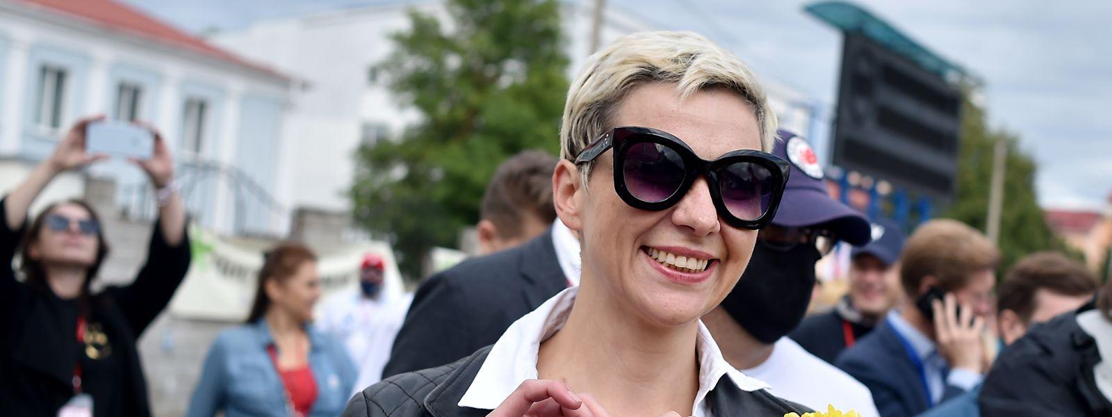 Zwei Tage lang fehlte von Maria Kolesnikowa jede Spur.