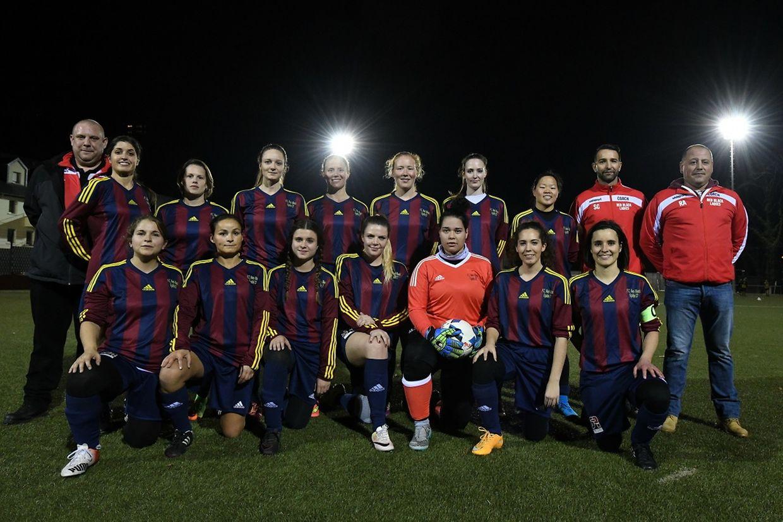 Red Black Egalité - Bissen 11-0 - Les filles du FC Red Black.