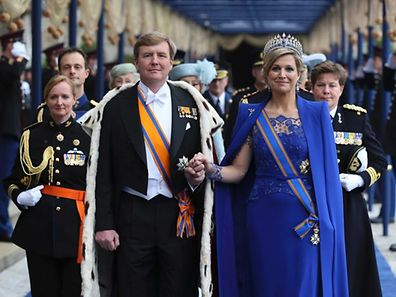 King Willem-Alexander and his wife, Queen Maxima
