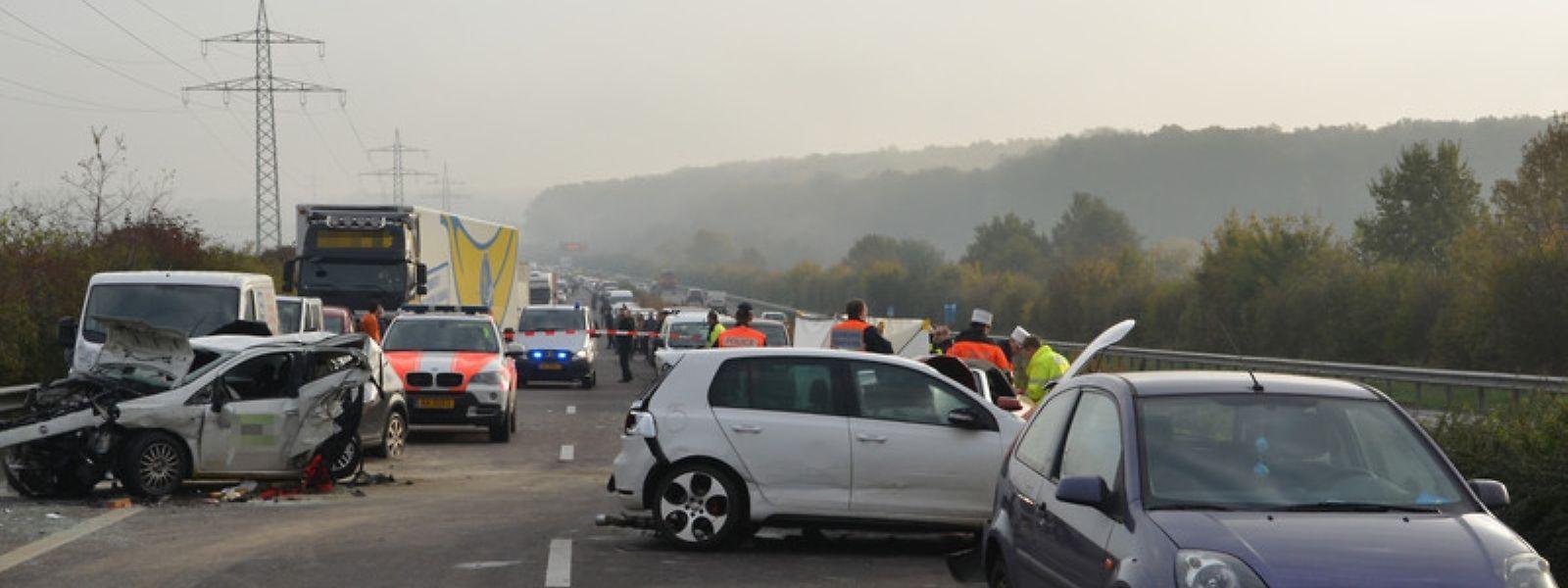 Bei dem Unfall war am 31. Oktober 2014 eine Person gestorben.