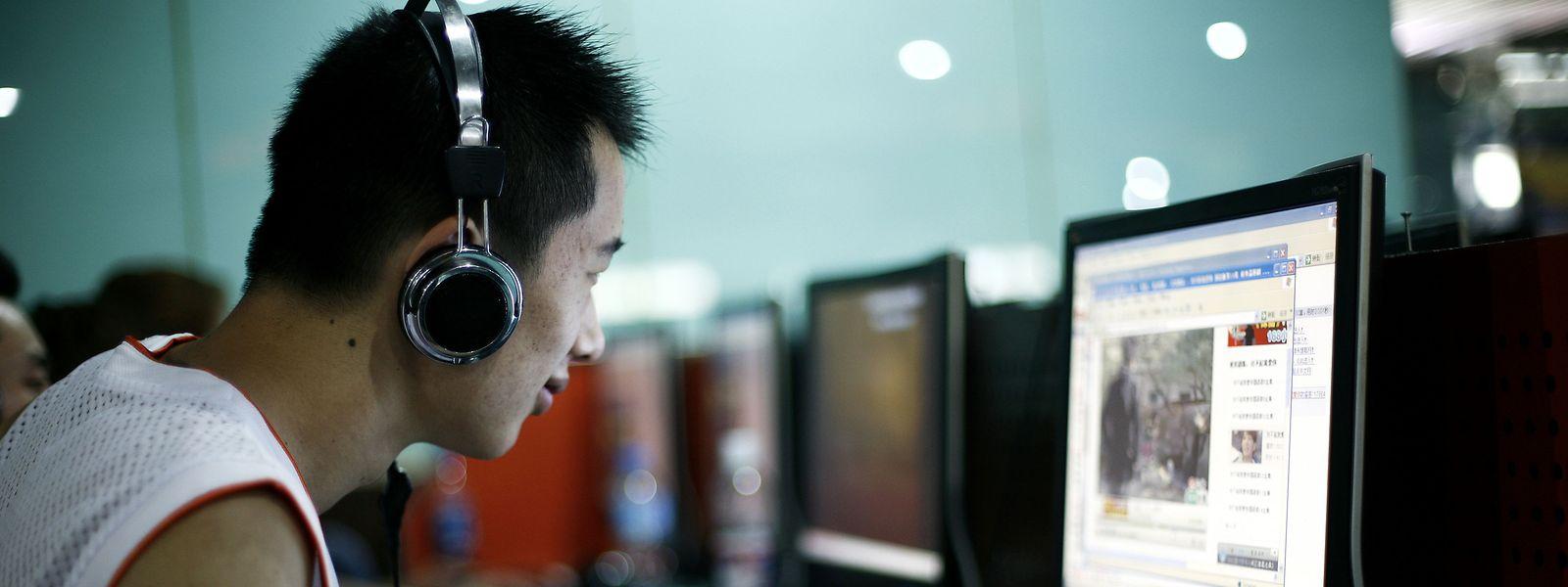 In China sind sensible Inhalte im Internet nicht aufrufbar.