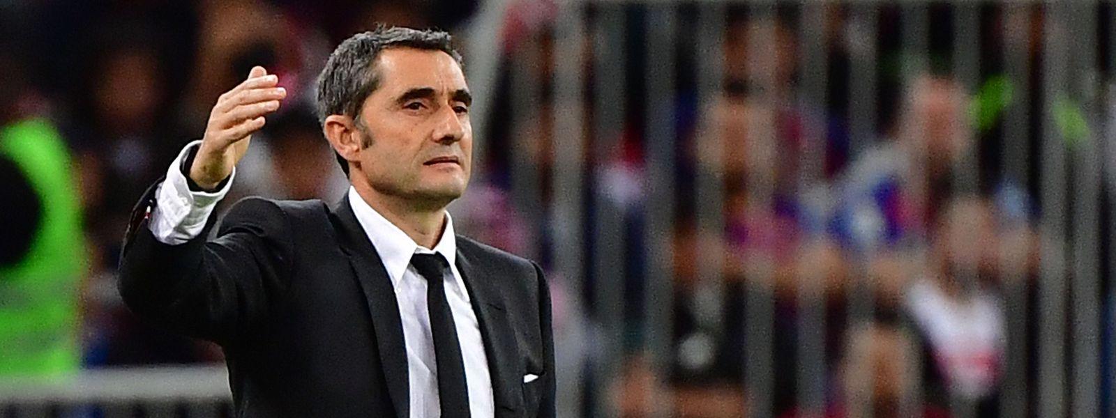 Ernesto Valverde muss den FC Barcelona nach zweieinhalb Jahren verlassen.
