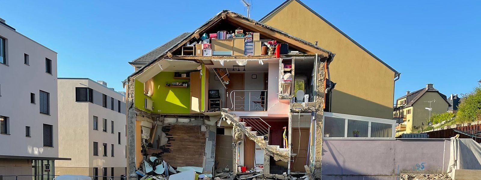 Die Gemeinde brachte die betroffenen Einwohner in eine Notunterkunft.