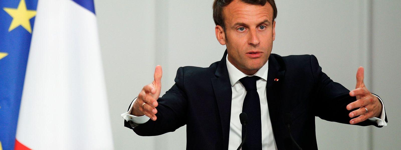 In Umfragen liegt Le Pens Rassemblement National (RN) derzeit gleichauf mit Macrons La République en Marche.