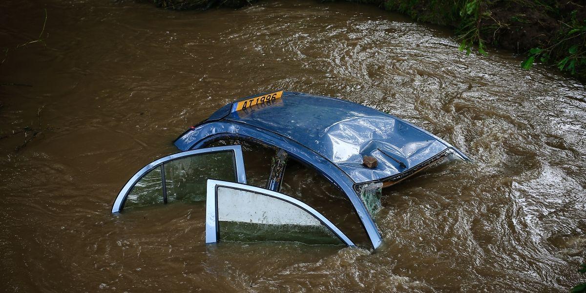 O Vale de Ernz nas últimas inundações