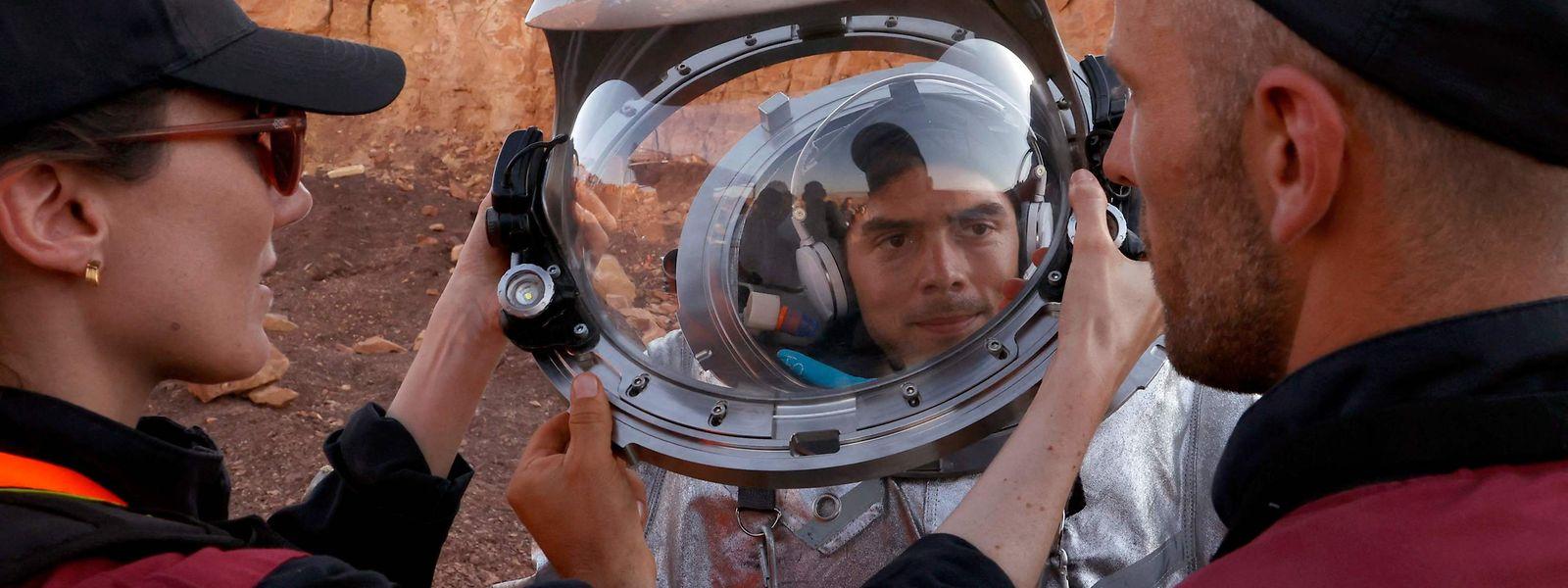 Là, ce n'est pas du cinéma. La mission AMADEE-20 est on ne peut plus scientifique à l'approche de la conquête martienne.